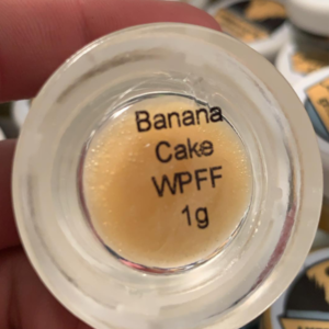 Banana Cake Trim Wax