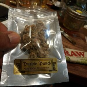 buy gold label distribution purple punch